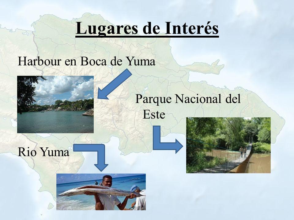 Lugares de Interés Harbour en Boca de Yuma Parque Nacional del Este Rio Yuma