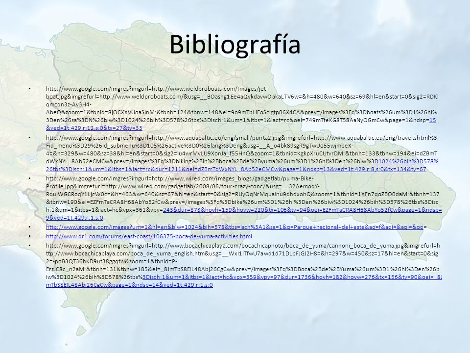 Bibliografía http://www.google.com/imgres?imgurl=http://www.weldproboats.com/Images/jet- boat.jpg&imgrefurl=http://www.weldproboats.com/&usg=__BOashg1