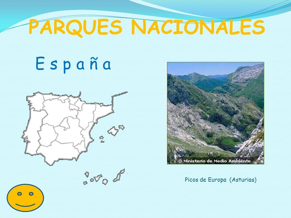 E s p a ñ a PARQUES NACIONALES Picos de Europa (Asturias)