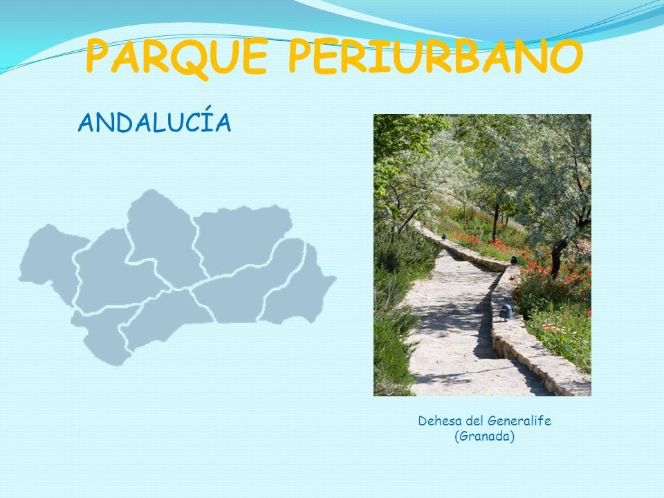 ANDALUCÍA PARQUE PERIURBANO Dehesa del Generalife (Granada)