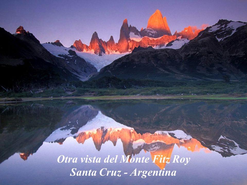 Otra vista del Monte Fitz Roy Santa Cruz - Argentina