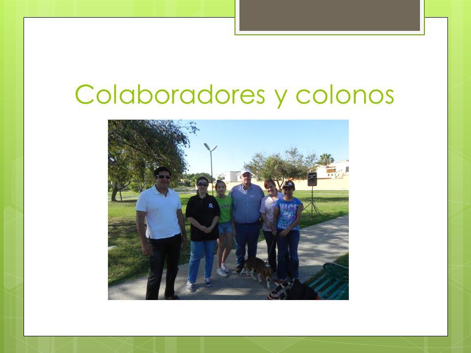 Colaboradores y colonos