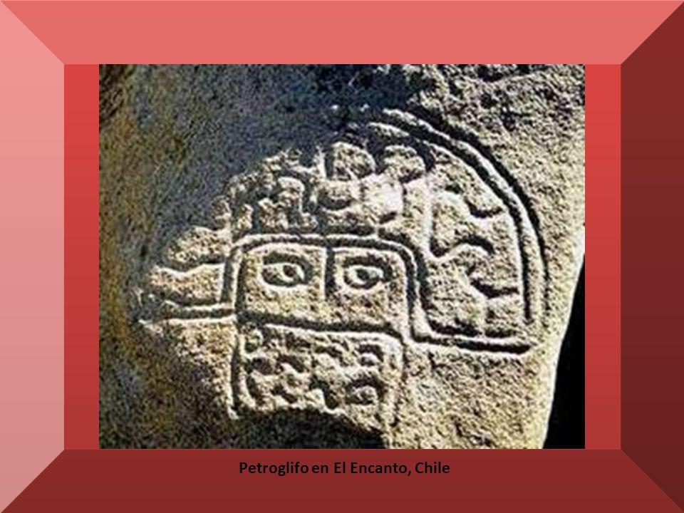 Petroglifo en El Encanto, Chile