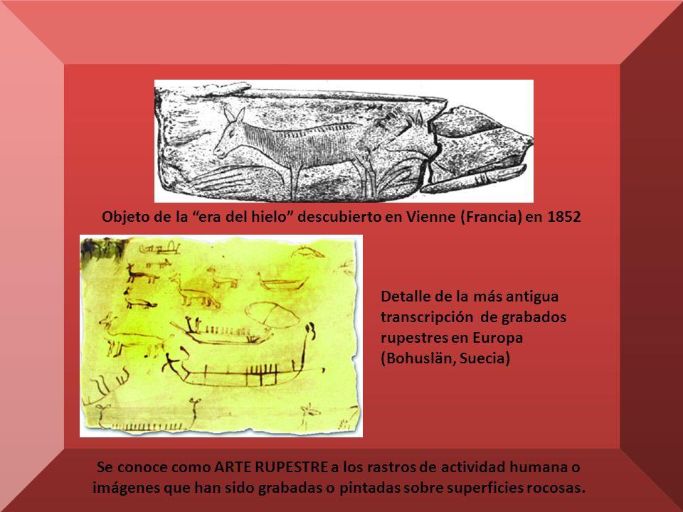 Se conoce como ARTE RUPESTRE a los rastros de actividad humana o imágenes que han sido grabadas o pintadas sobre superficies rocosas.