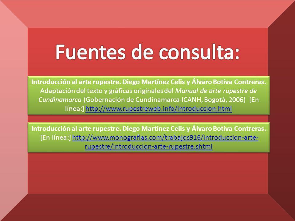 Introducción al arte rupestre.Diego Martínez Celis y Álvaro Botiva Contreras.
