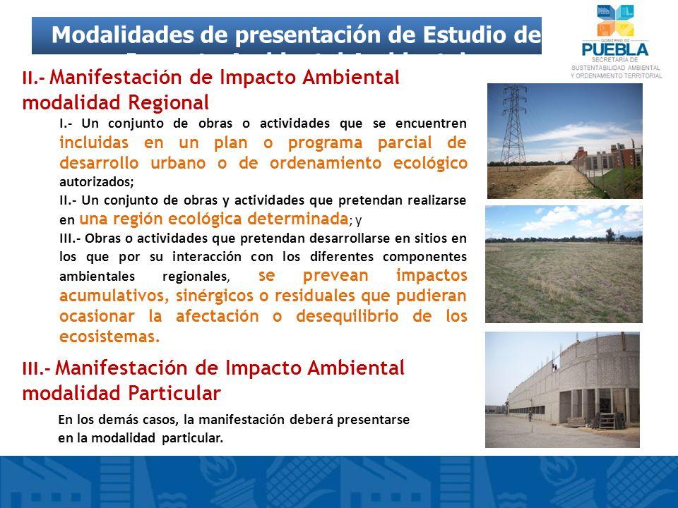 I.- Un conjunto de obras o actividades que se encuentren incluidas en un plan o programa parcial de desarrollo urbano o de ordenamiento ecológico auto