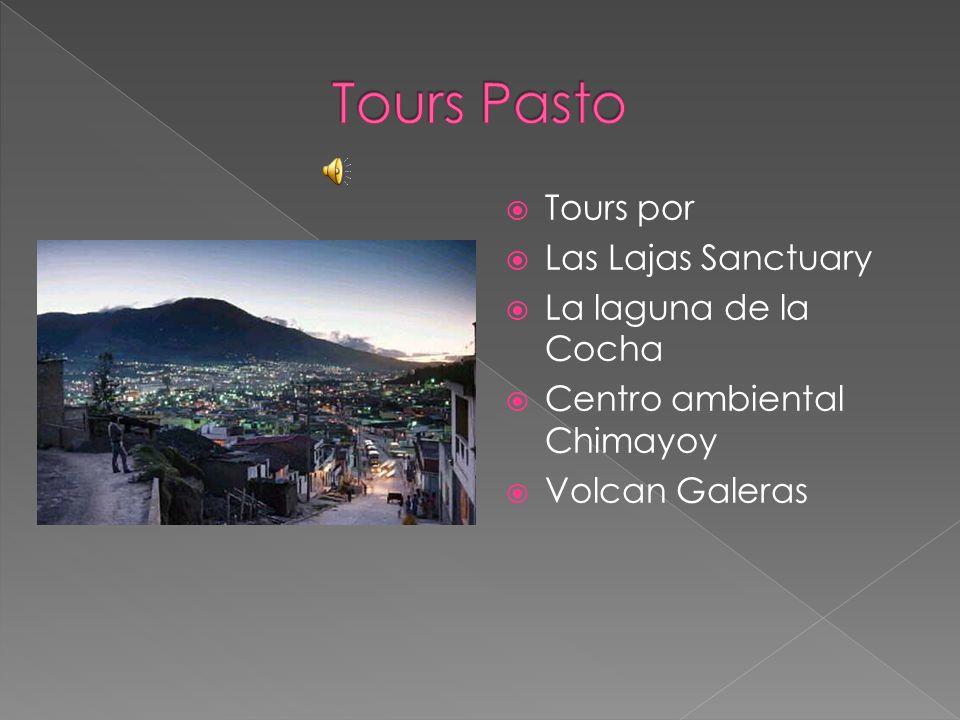 Tours por Las Lajas Sanctuary La laguna de la Cocha Centro ambiental Chimayoy Volcan Galeras