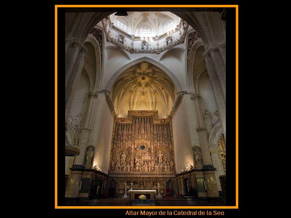 Detalle de la Catedral de la Seo