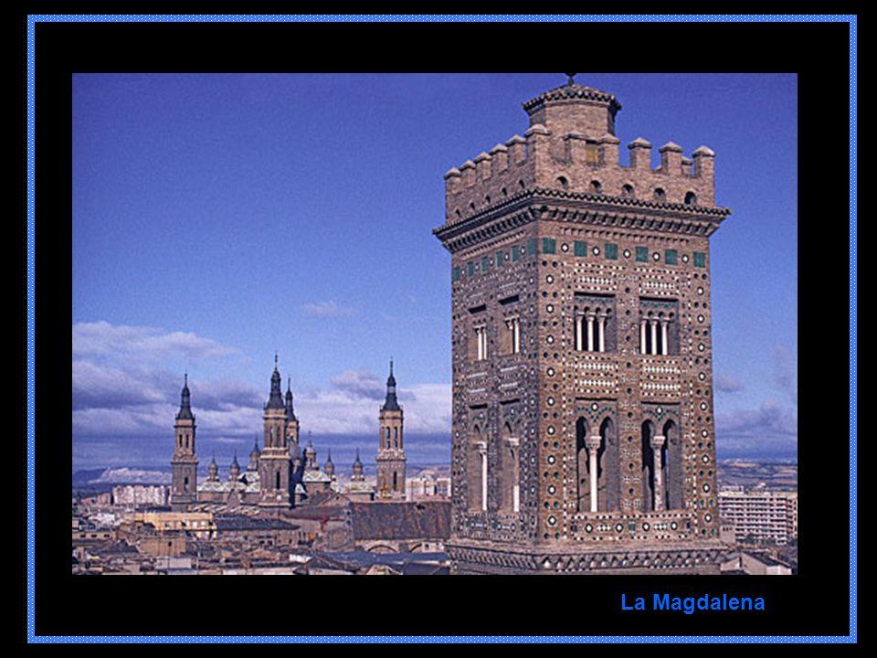 Detalle Palacio de la Aljafería