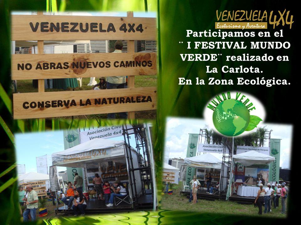 Participamos en el ¨ I FESTIVAL MUNDO VERDE¨ realizado en La Carlota. En la Zona Ecológica.