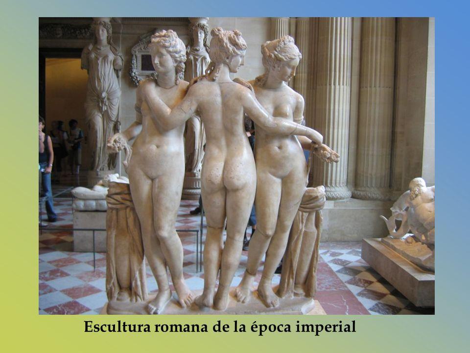 Escultura romana de la época imperial