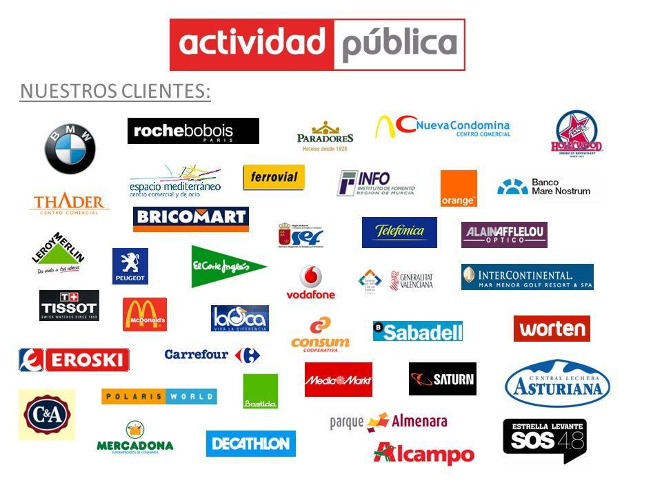 Avenida Ciudad de Murcia, 2 BIS 30.570 Beniaján – Murcia Telf.: 968 874 700 – 902 105 595 / Fax: 968 874 181 / Área Comercial: 646 447 297 jmgarcia@actividadpublica.com www.actividadpublica.com