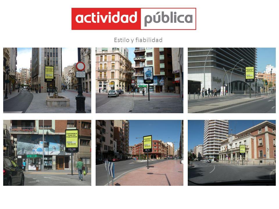 Empresa especializada en explotación y mantenimiento de Mobiliario Urbano.