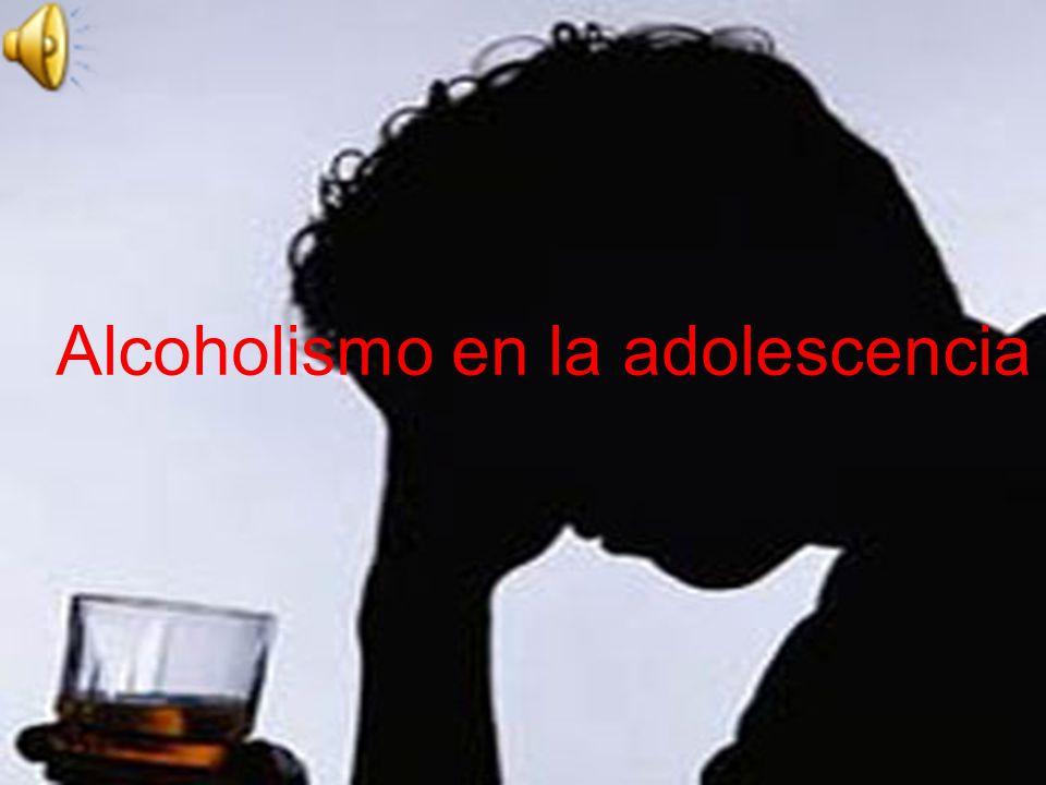 Alcoholismo en la adolescencia