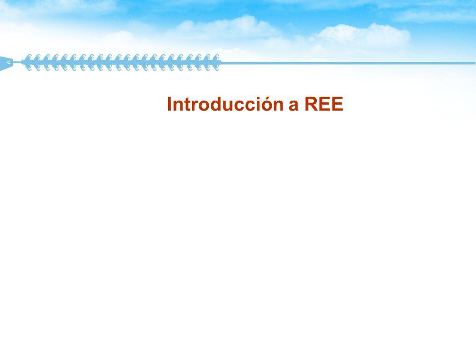 Introducción a REE