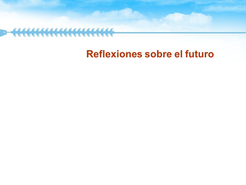 Reflexiones sobre el futuro
