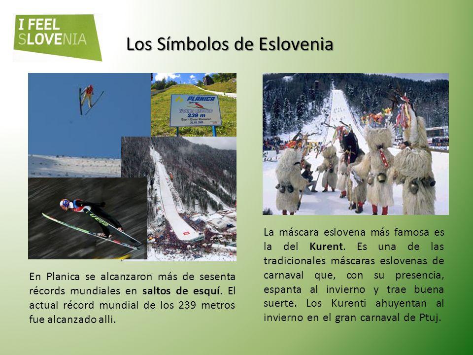 Los Símbolos de Eslovenia En Eslovenia funciona desde su creación en 1580 la mundialmente conocida caballariza de Lipica, famosa por la cría de los ar
