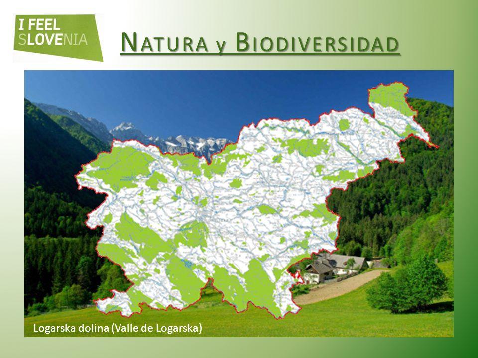 N ATURA y B IODIVERSIDAD Eslovenia es uno de los países con mayor biodiversidad del mundo.