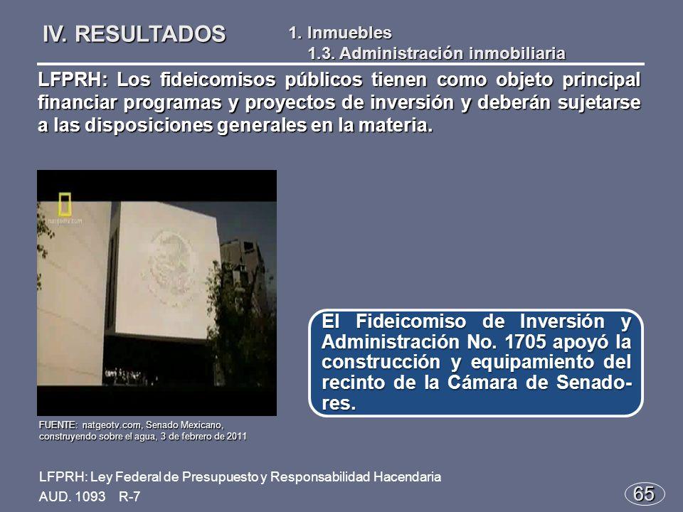 65 El Fideicomiso de Inversión y Administración No.