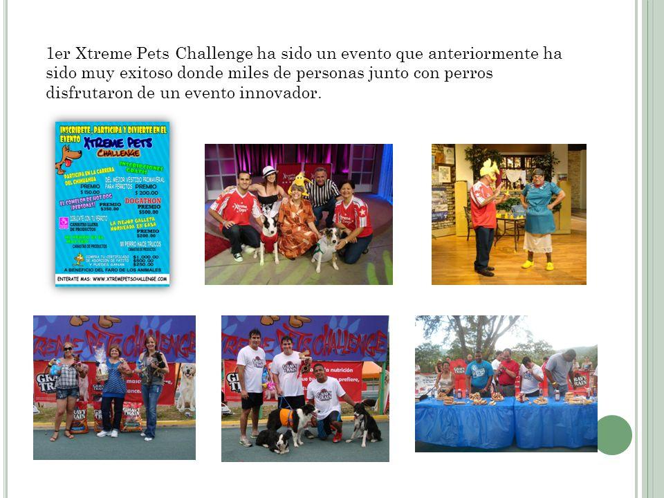 1er Xtreme Pets Challenge ha sido un evento que anteriormente ha sido muy exitoso donde miles de personas junto con perros disfrutaron de un evento innovador.