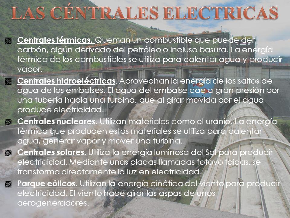 Centrales térmicas.