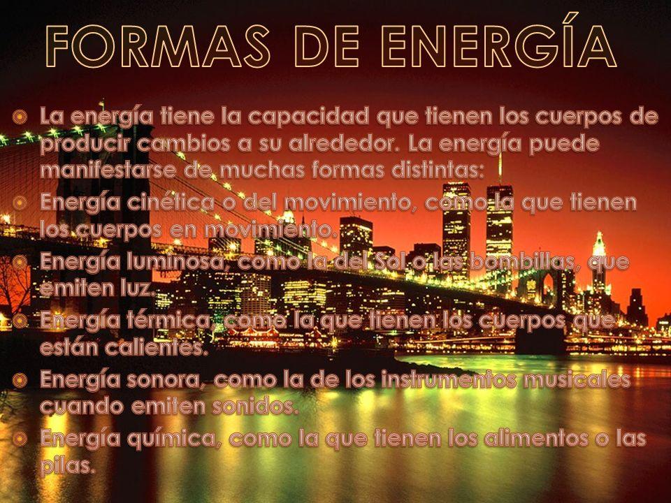 Índice Energético 1ª PARTE: Formas de energía. Las transformaciones de la energía. La electricidad. 2ª PARTE: S Fuentes de energía más utilizadas. S F