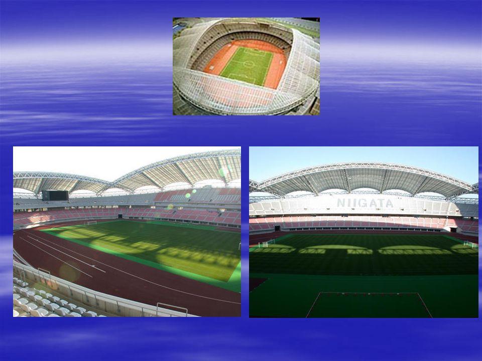 Busan El Estadio de Busan, construido pensando en el Mundial y en los Juegos Asiáticos, es un recinto polideportivo que simboliza la forma de un globo, posee una capacidad de casi 56.000 asientos y unas 3.000 plazas de aparcamiento.