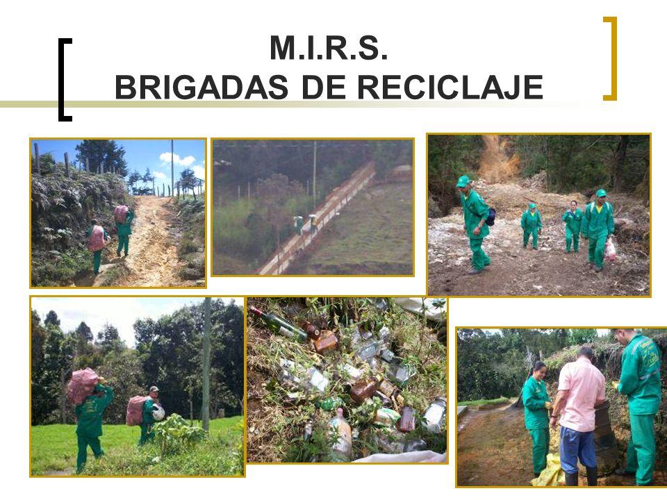 M.I.R.S. BRIGADAS DE RECICLAJE