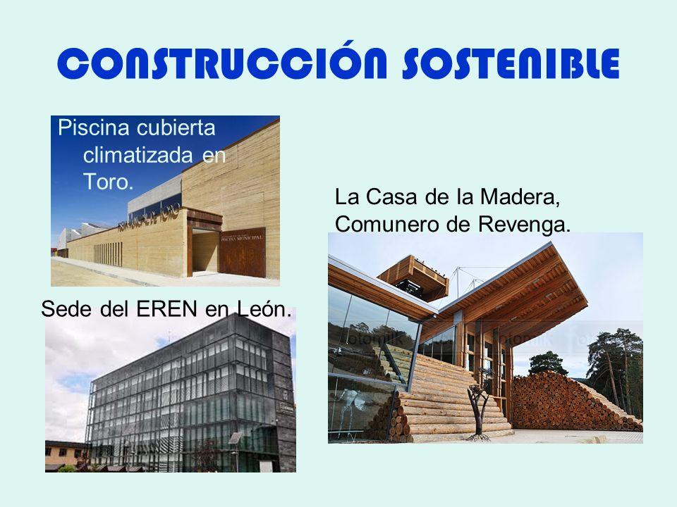 CONSTRUCCIÓN SOSTENIBLE Piscina cubierta climatizada en Toro.