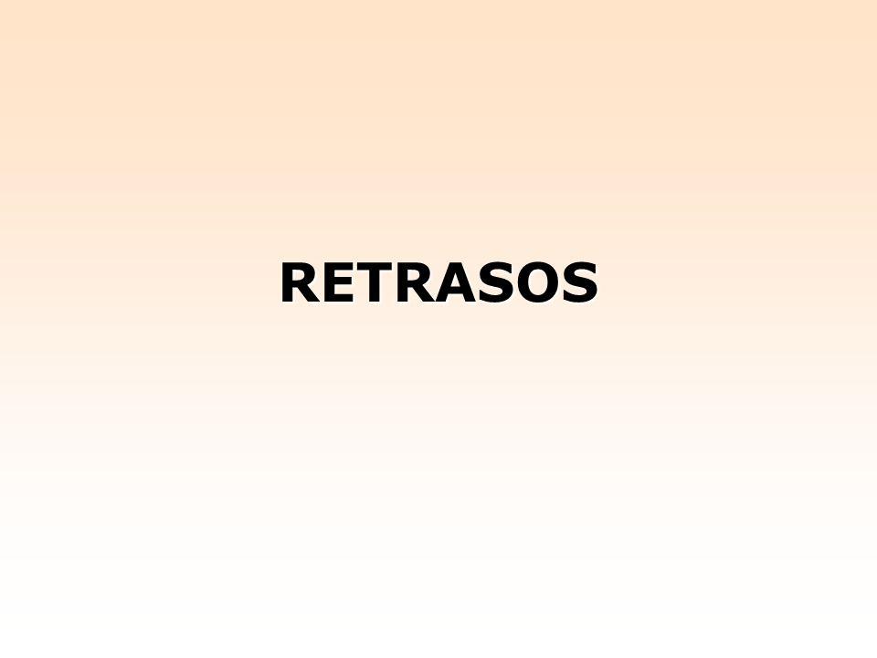 RETRASOS