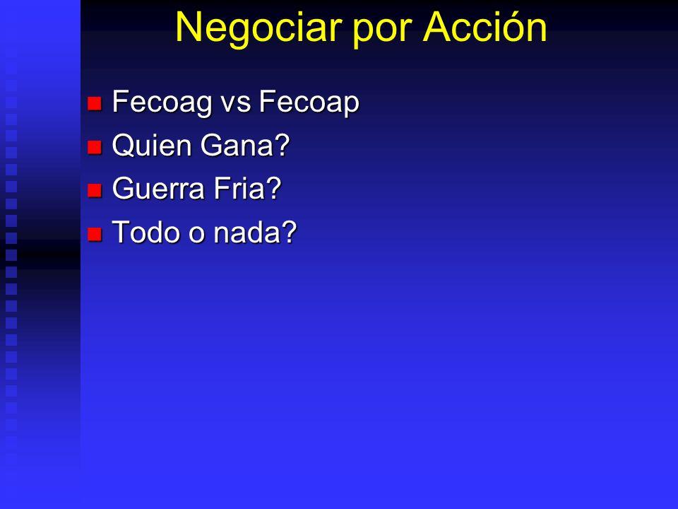 Negociar por Acción Fecoag vs Fecoap Fecoag vs Fecoap Quien Gana.