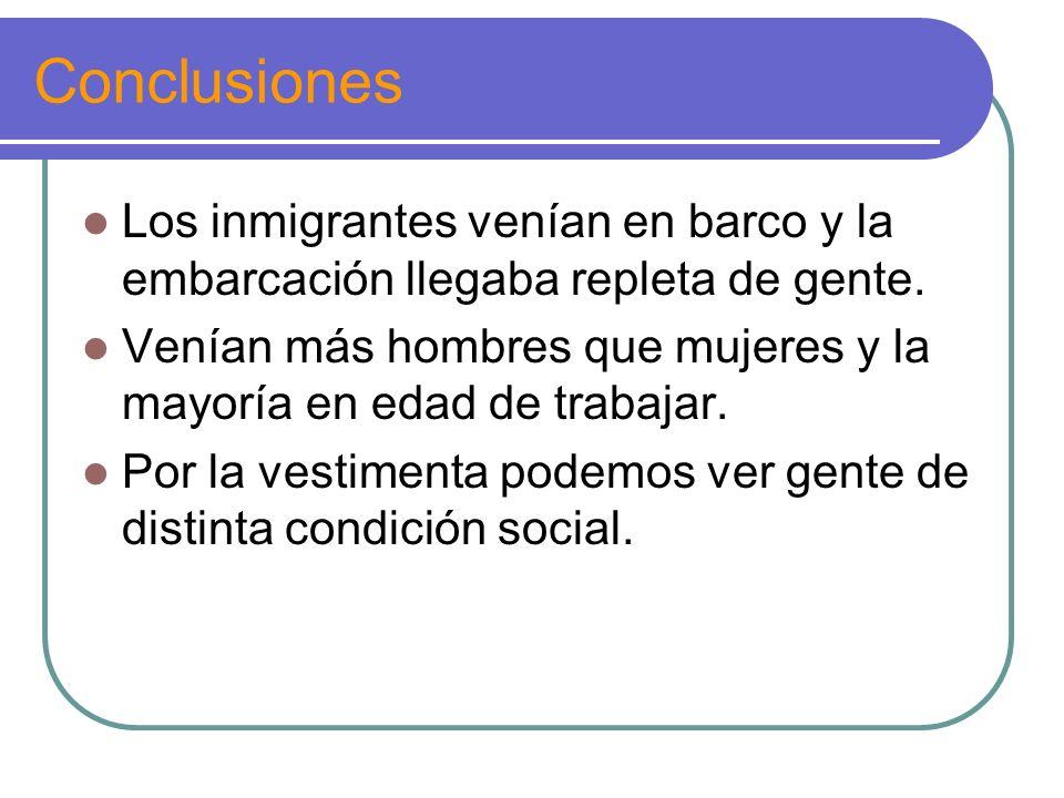 Analizamos algunas fuentes primarias Llegada de italianos al puerto de Buenos Aires Llegada de inmigrantes al puerto de Buenos Aires, Argentina, 1910