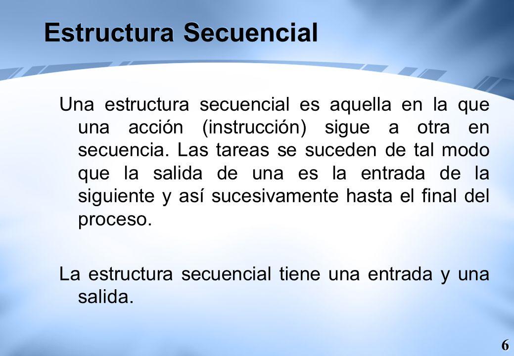 7 Estructuras Selectivas Las estructuras selectivas se utilizan para tomar decisiones lógicas; de ahí que se suelan denominar también estructuras de decisión o alternativas.