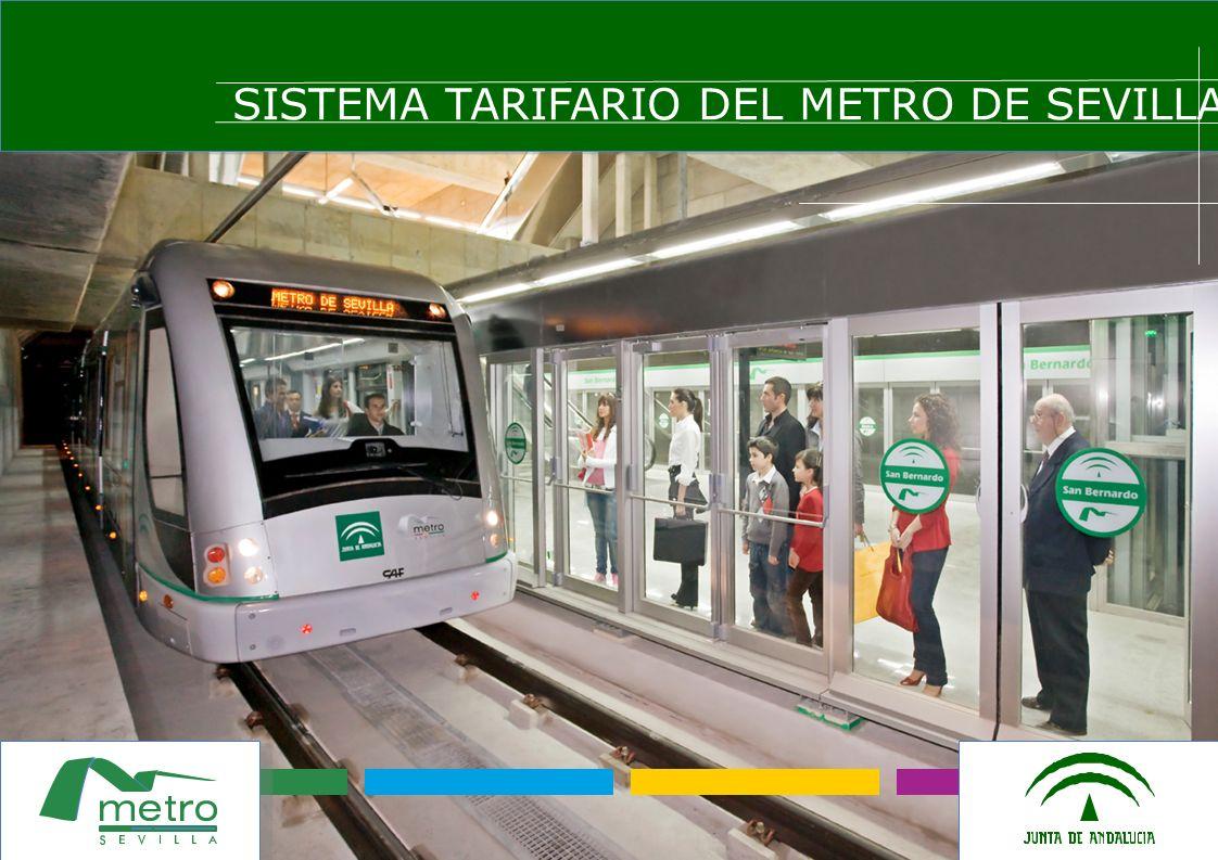 SISTEMA TARIFARIO DEL METRO DE SEVILLA