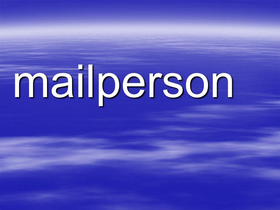 mailperson
