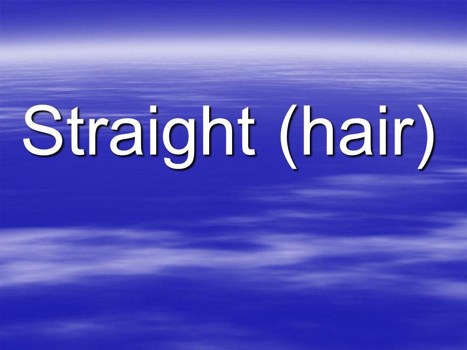 Straight (hair)