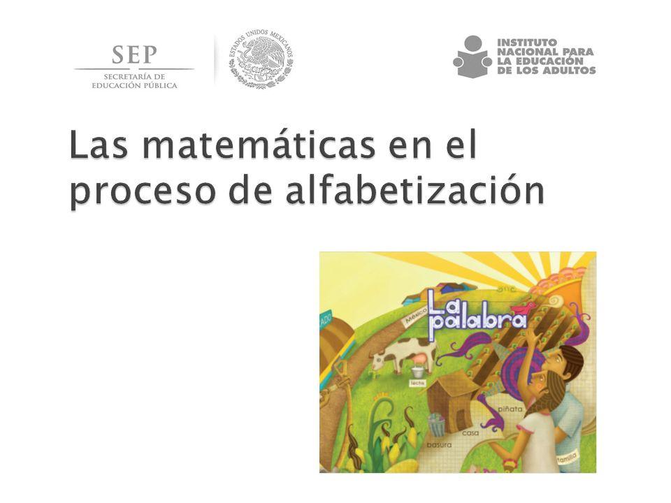 Las matemáticas en el proceso de alfabetización