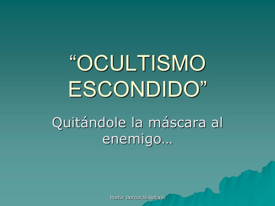 Definiendo Ocultismo 1.m.