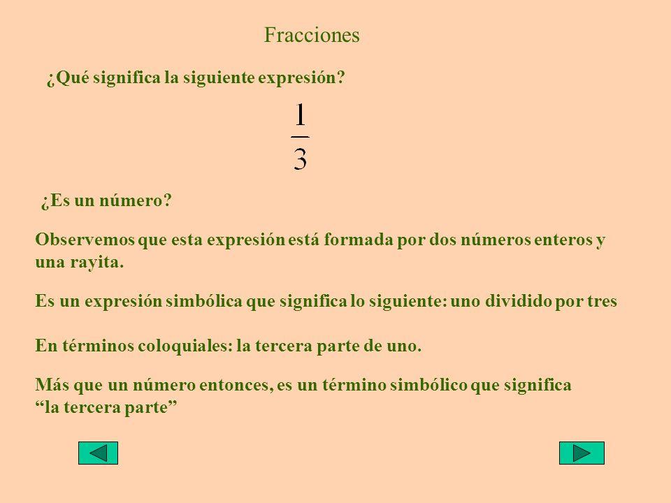 Fracciones ¿Cuál es la tercera parte de 600 pesos?