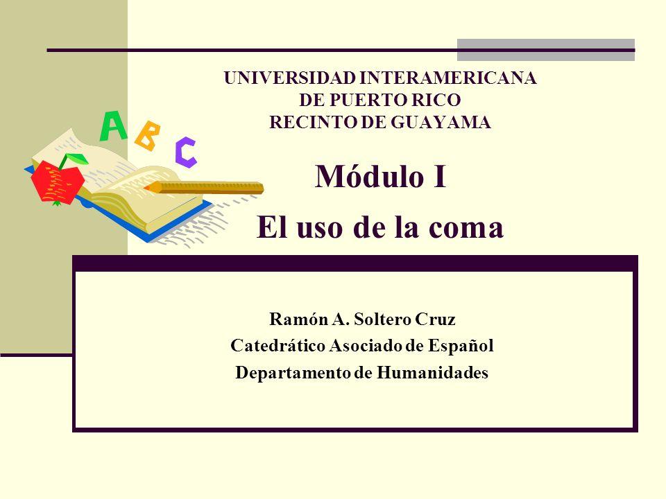 Objetivo Terminal El estudiante 1.