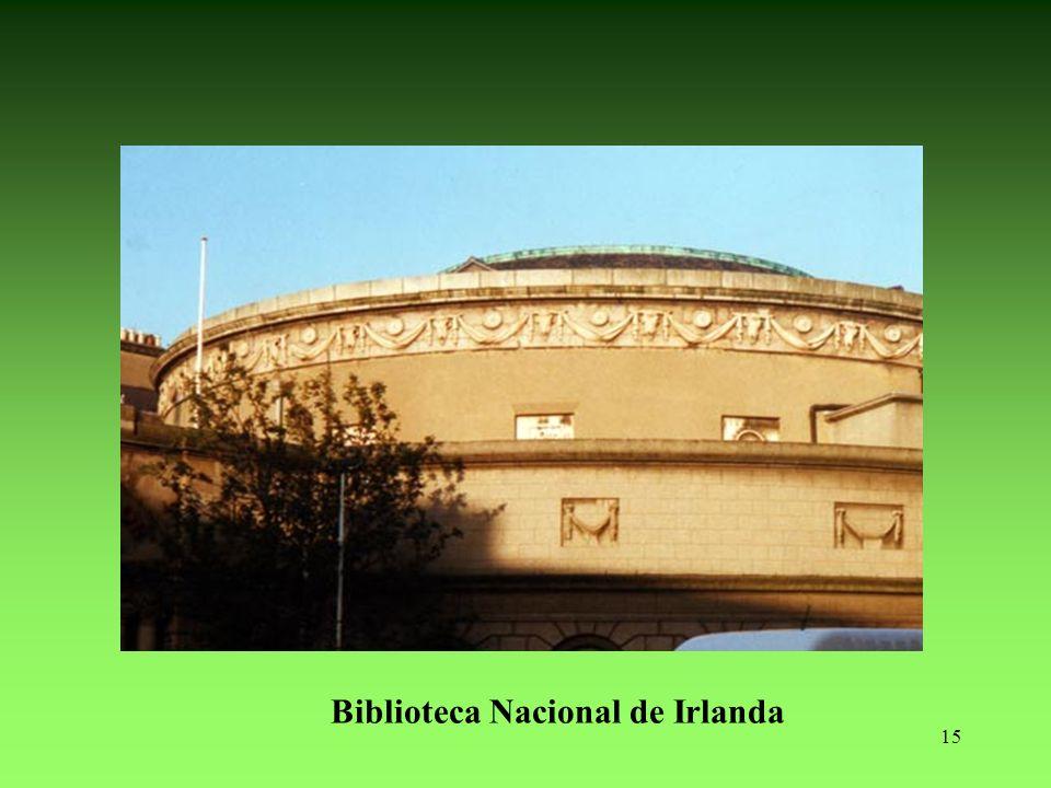 15 Biblioteca Nacional de Irlanda