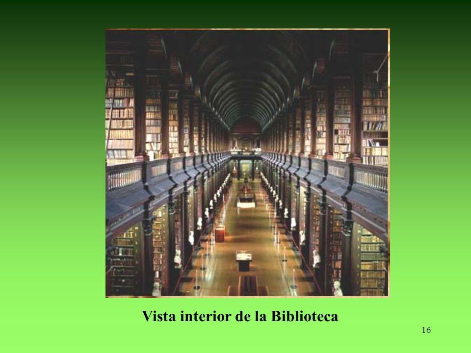 16 Vista interior de la Biblioteca
