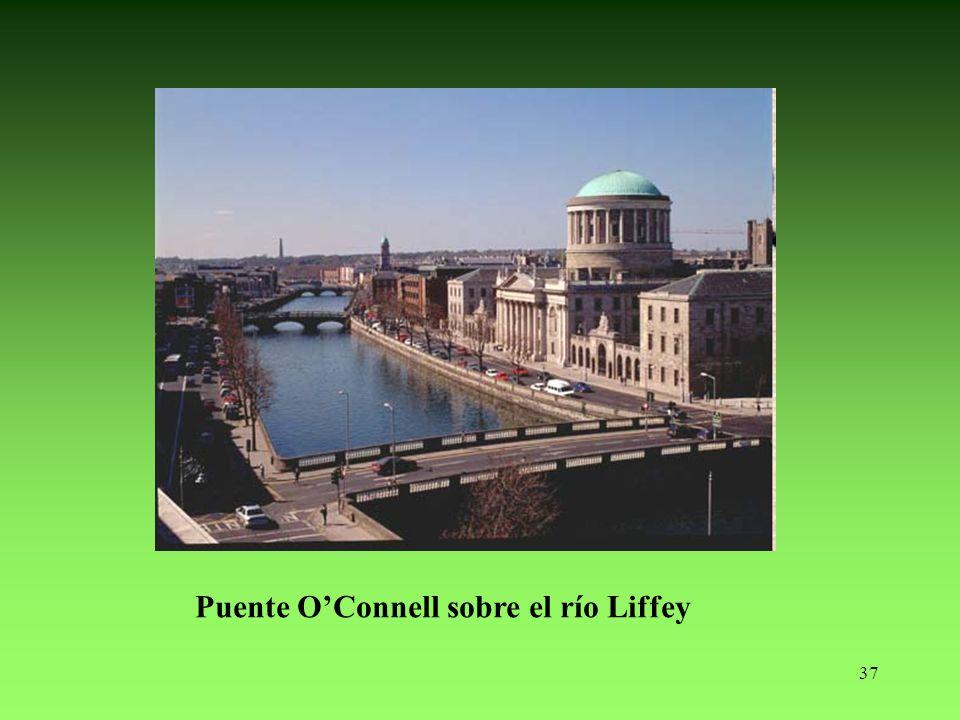 37 Puente OConnell sobre el río Liffey
