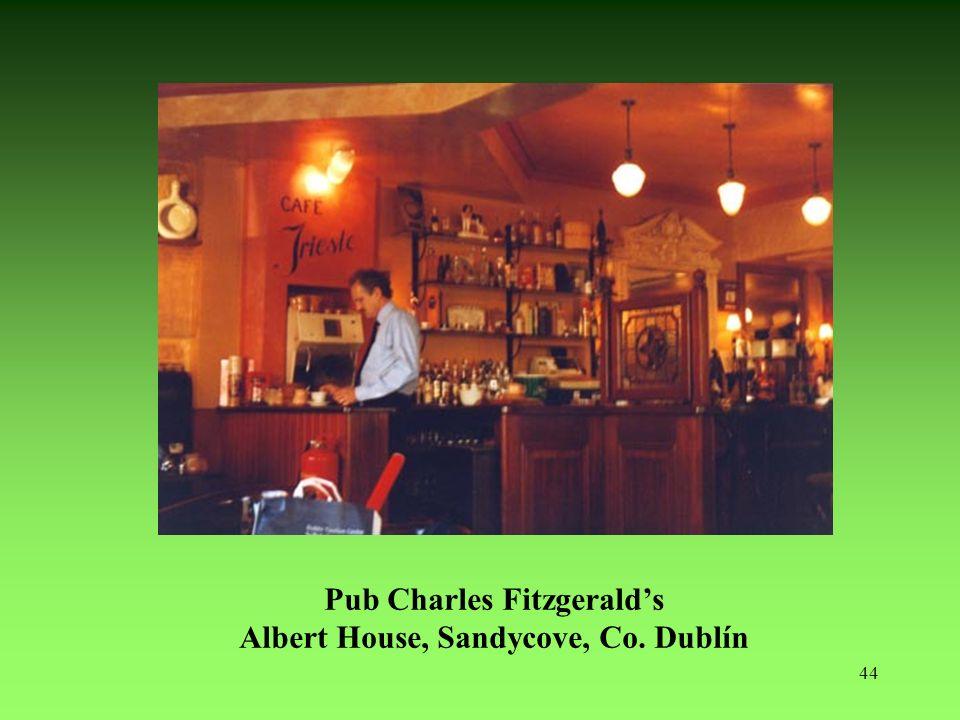 44 Pub Charles Fitzgeralds Albert House, Sandycove, Co. Dublín