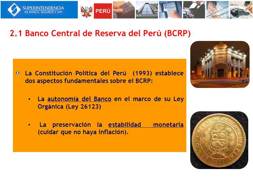Cumple las siguientes funciones: Regular la moneda y el crédito del sistema financiero.
