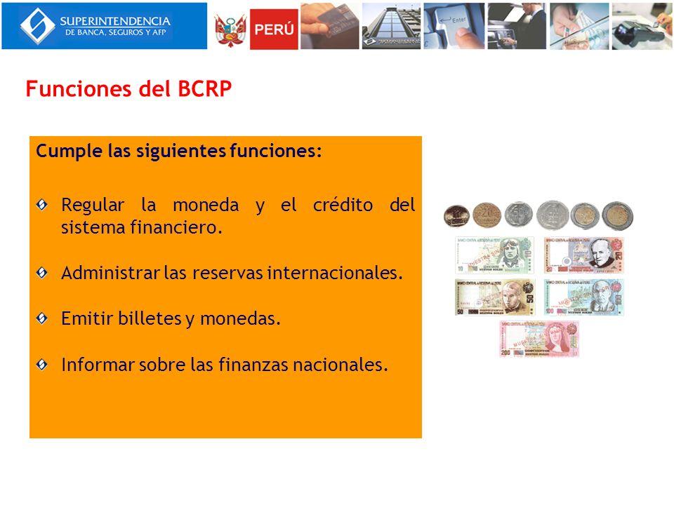 La Superintendencia de Banca, Seguros y AFP es el organismo encargado de la regulación y supervisión de los Sistemas Financiero, Privado de Pensiones y de Seguros.