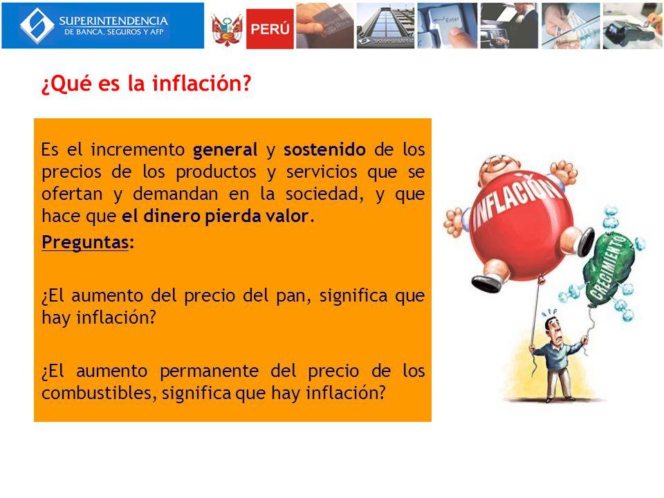 ¿Por qué la inflación muy alta es perjudicial.