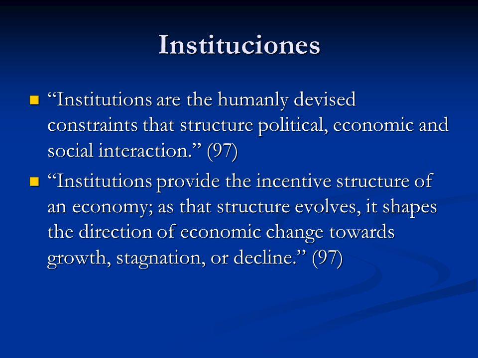 Instituciones Caravanas Caravanas protección individual absoluta protección individual absoluta falta de instituciones formales falta de instituciones formales