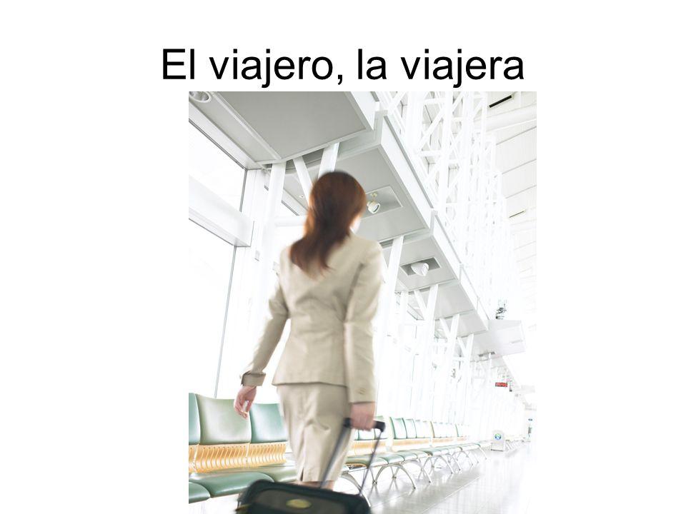 El viajero, la viajera