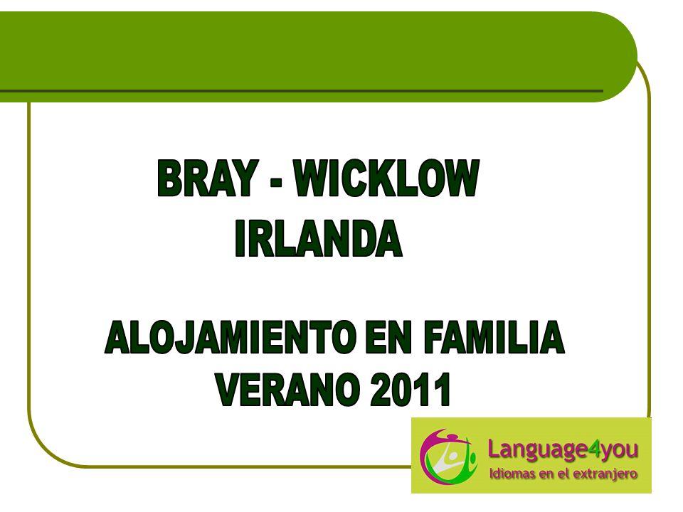 BRAY Bray es una ciudad del condado de Wicklow situada al sur de Dublín, en la costa este de Irlanda.